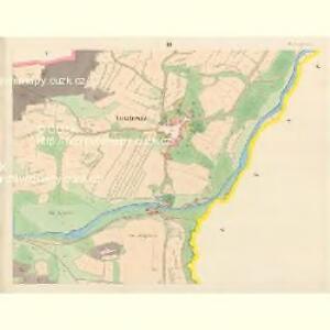 Tieschowitz (Těssauce) - c7899-1-003 - Kaiserpflichtexemplar der Landkarten des stabilen Katasters