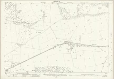 Durham XLVII.13 (includes: Marwood; Streatlam And Stainton; Westwick; Whorlton) - 25 Inch Map