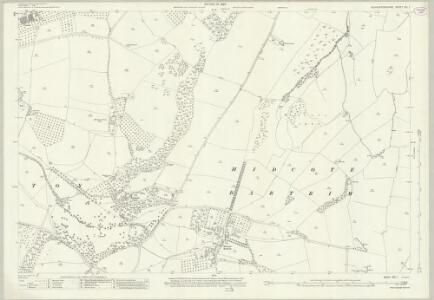 Gloucestershire VIII.1 (includes: Admington; Ebrington; Mickleton; Quinton) - 25 Inch Map