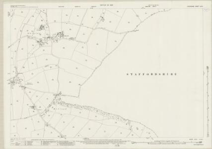 Shropshire LIX.4 (includes: Claverley; Pattingham; Rudge; Trysull And Seisdon) - 25 Inch Map