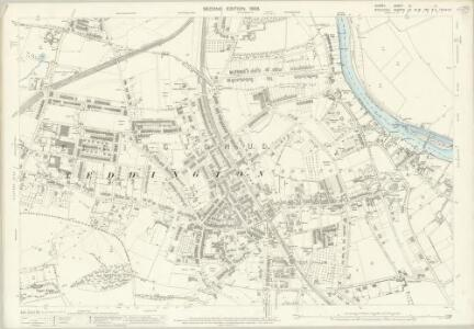 Surrey VI.11 (includes: Ham; Twickenham St Mary The Virgin) - 25 Inch Map