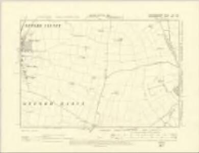 Huntingdonshire XXII.SW - OS Six-Inch Map