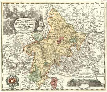 Ducatus Franciae Orientalis Seu Sac. Rom. Imperij Principatus et Episcopatus Herbipolensis Vulgo Würtzburgensis cum omnibus suis Officiis et pertinentijs Geographice exhibitus