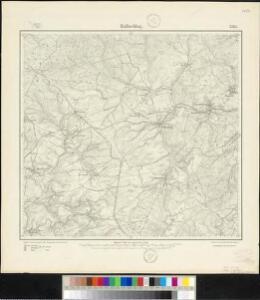 Meßtischblatt 3263 : Hallschlag, 1910
