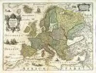 Evropa exactissime descripta