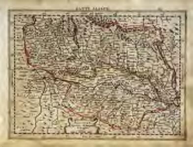 Alsatia superior cu[m] Suntgoa et Brisgoia