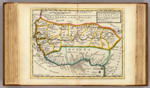 Negroland and Guinea.