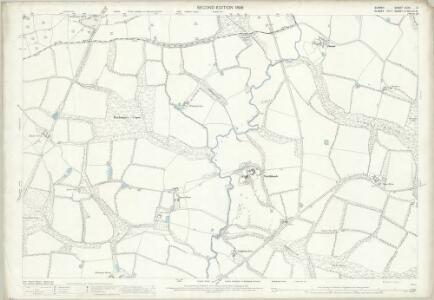 Surrey XLVII.2 (includes: Ockley; Warnham) - 25 Inch Map