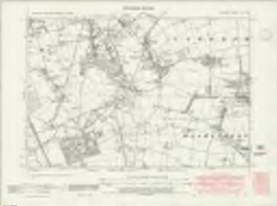 Durham VII.SW - OS Six-Inch Map