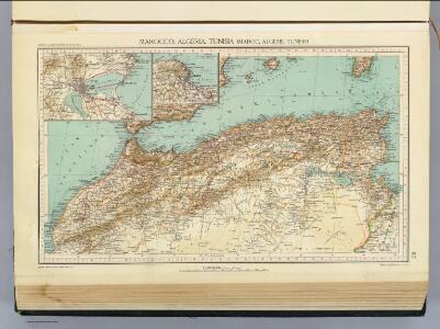 112. Marocco, Algeria, Tunisia.
