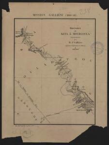 Mission Galliéni 1880-1881. Itinéraire de Kita à Mourgoula