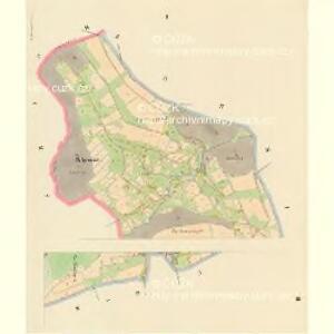 Nieder Kamnitz - c1307-1-001 - Kaiserpflichtexemplar der Landkarten des stabilen Katasters