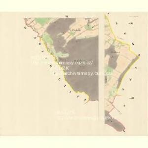 Chlebowitz (Chlebowic) - m0956-1-003 - Kaiserpflichtexemplar der Landkarten des stabilen Katasters