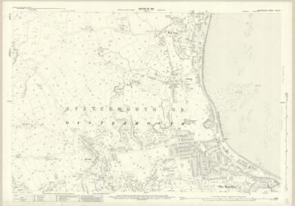 Glamorgan XXXII.3 (includes: Oystermouth) - 25 Inch Map