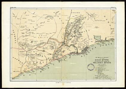 The mission fields on the Gold Coast and the western parts of the Slave Coast