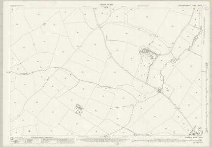Northamptonshire XXXII.9 (includes: Isham; Orlingbury; Pytchley) - 25 Inch Map