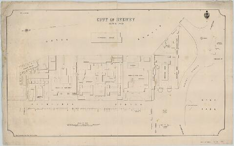 City of Sydney, Sections 50 & part of 30, 1887