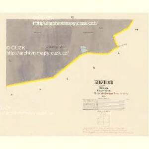 Kienhaid - c3099-1-005 - Kaiserpflichtexemplar der Landkarten des stabilen Katasters