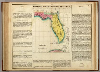 Map Of Florida.