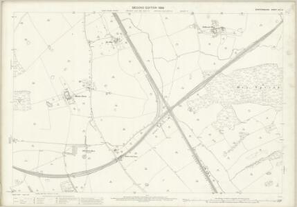 Staffordshire XVII.9 (includes: Madeley; Whitmore) - 25 Inch Map