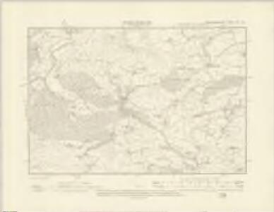 Montgomeryshire XIII.NE - OS Six-Inch Map