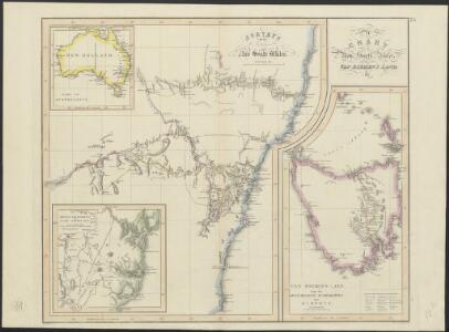 A chart of New South Wales, Van Diemens Land etc.