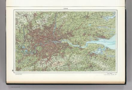 60.  London.  The World Atlas.