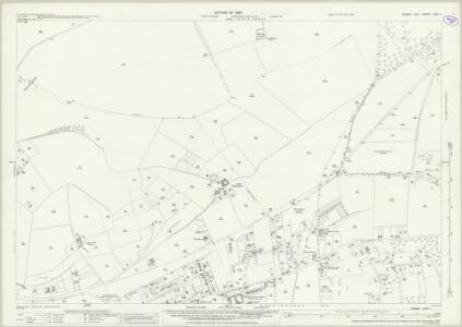 Sussex LXVI.7 (includes: Brighton; Falmer; Kingston Near Lewes) - 25 Inch Map