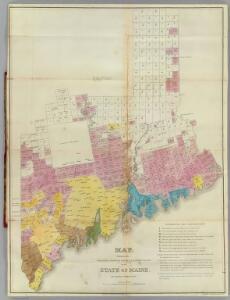 Maine grants & land sales.