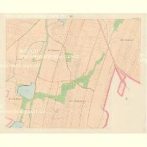 Wodnian - c8719-1-008 - Kaiserpflichtexemplar der Landkarten des stabilen Katasters