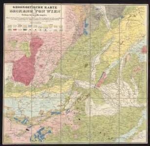 Geognostische Karte des Beckens von Wien und der Gebirge, die dasselbe umgeben