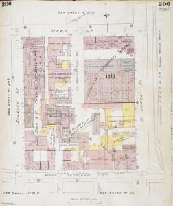 Insurance Plan of Glasgow Vol. V: sheet 206