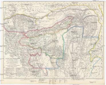 Karte von Asam, Ost-Bengalen und Nord-Birma