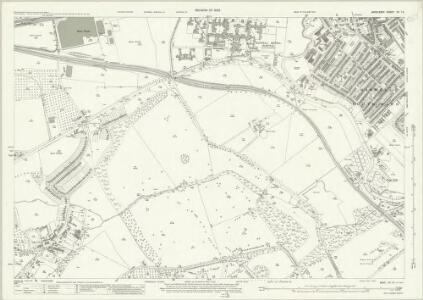 Middlesex XV.15 (includes: Ealing St Mary; Heston and Isleworth; Norwood) - 25 Inch Map