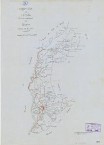 Mapa planimètric d'Oliana