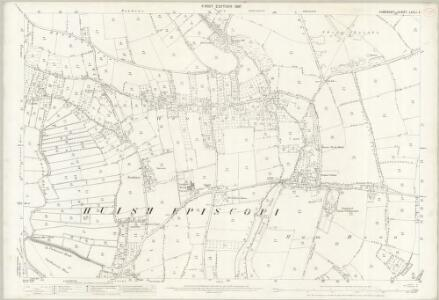 Somerset LXXII.4 (includes: Aller; High Ham; Huish Episcopi; Langport) - 25 Inch Map