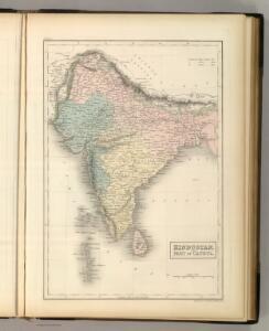Hindustan, with Part of Caubul.