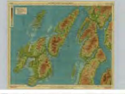 Islay Scotland Map.Islay Jura Sheet 6 Bartholomew S Half Inch To The Mile Maps