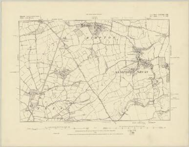 Somerset LXXXIII.NW - OS Six-Inch Map