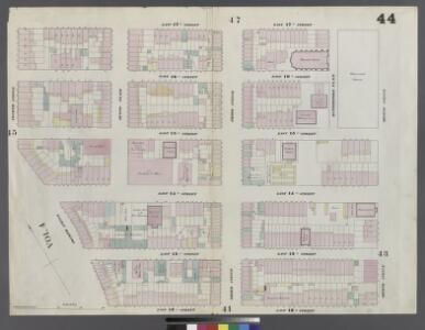 Plate 44: Map bounded by East 17th Street, Second Avenue, East 12th Street, Fourth Avenue