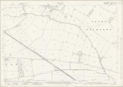 Buckinghamshire XXXIII.13 (includes: Aston Sandford; Kingsey; Longwick cum Ilmer) - 25 Inch Map