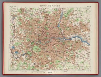 London and Environs, Plate 55, V. III
