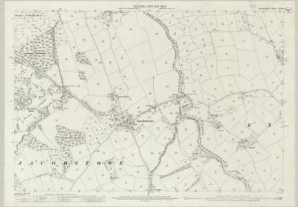Devon LXIV.4 (includes: Exbourne; Jacobstowe) - 25 Inch Map