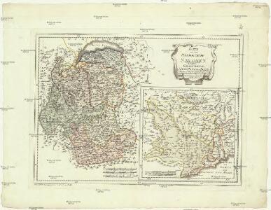 Karte von dem Herzogthume Savoyen und den Grafschaften Nizza, Tenda und Boglio oder den Ländern welche der König. von Sardinien in dem Frieden zu Paris den 15 May 1796 der Französischen Republik abtrat