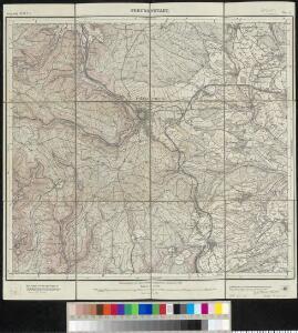 Meßtischblatt [7516] : Freudenstadt, 1910