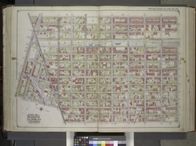 Brooklyn, Vol. 1, Double Page Plate No. 20; Part of Wards 24, 26 & 32, Sections 5-12; [Map bounded by Williams Ave., Riverdale Ave., Bristol St., East New York Ave.; Including Rockaway Ave., Atlantic Ave., East New York Ave.] / by and under the direct...