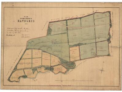 Plan of the estate of Ravelrig.