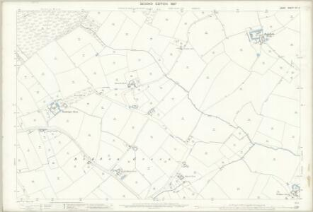 Essex (1st Ed/Rev 1862-96) XIV.3 (includes: Debden; Thaxted; Wimbish) - 25 Inch Map