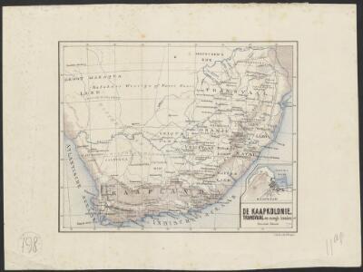 De Kaapkolonie, Transvaal en aangr. landen : periodieke rivieren