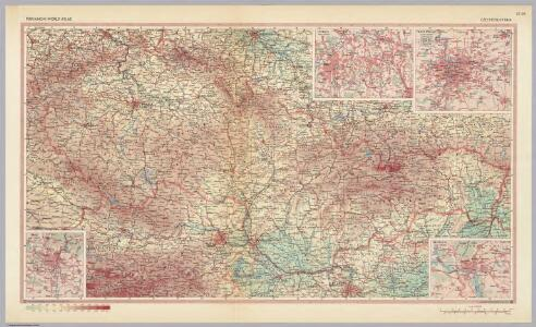 Czechoslovakia.  Pergamon World Atlas.